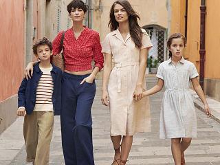 Uniqlo x Ines de la Fressange, des vetements pour femmes et enfants