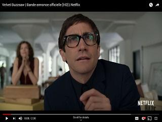 Velvet Buzzsaw : Jake Gyllenhaal dans le trailer du film de Dan Gilroy
