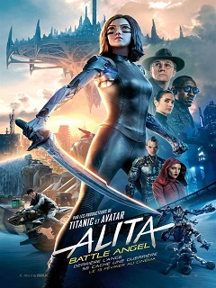 Film d action alita Battle Angel de James Cameron au top du box office mondial