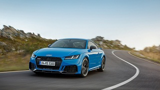 Audi TT RS : le coupe de la marque allemande au Salon de Geneve