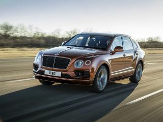 Bentley Bentayga Speed, SUV avec moteur W12 et 4 modes de conduite