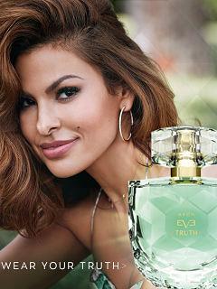 Parfum Eve Truth d Avon, Eva Mendes est l egerie de la fragrance