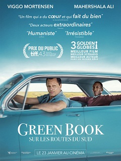 Green Book de Peter Farrelly, film avec Mahershala Ali et Viggo Mortensen