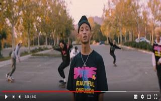 A Calabasas Freestyle : Jaden Smith, le rappeur sort le clip du morceau
