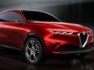 SUV Alfa Romeo Tonale Concept, hybride rechargeable du constructeur italien