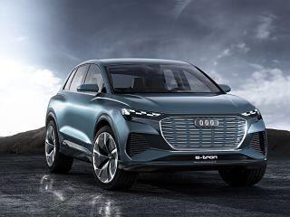 Audi Q4 e tron concept, SUV avec moteurs electriques au Salon de Geneve