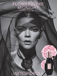 Parfum Flowerbomb Midnight de Viktor et Rolf, fragrance de Dominique Ropion