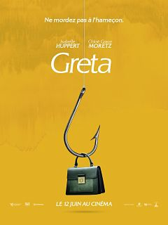 Thriller Greta : trailer avec Isabelle Huppert et Chloe Grace M