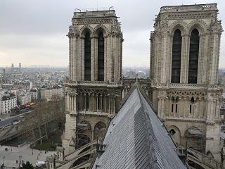 Cathedrale Notre Dame de Paris, monument parisien connu dans la litterature et le cinema