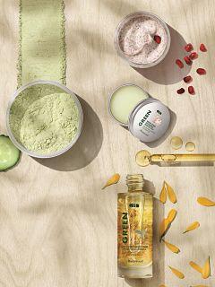Marionnaud Green, gamme de soins avec ingredients d origine naturelle