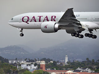 Qatar Airways, classe economique de la compagnie aerienne au Salon du tourisme