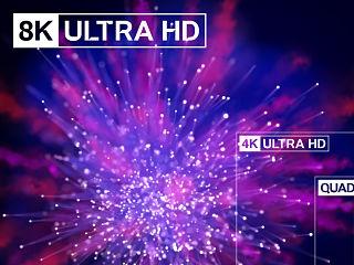 8K, la technologie destinee a la television presentee au MIPTV a Cannes