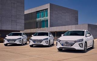 Hyundai Ioniq, puissance electrique de la version 2020 avec une nouvelle batterie