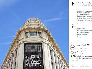Galeries Lafayette Champs Elysees, shopping et services au magasin parisien