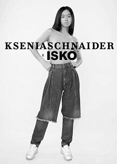 Jeans ecologiques, ISKO et Ksenia Schnaider lancent une collection de denim en coton biologique