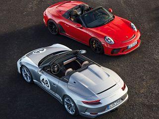 Porsche 911 Speedster, voiture bi place du fabricant allemand