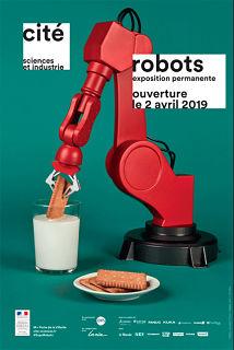 Exposition sur les robots a la cite des sciences, robot humanoide et atelier robotique