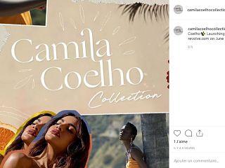 Marque de mode de Camila Coelho, l influenceuse bresilienne lance sa griffe de pret a porter avec Revolve