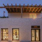 Dior ouvre une boutique éphémère à Mykonos en Grèce