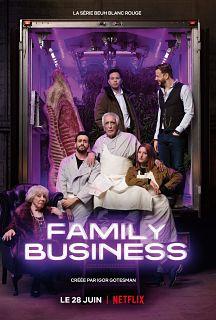 Serie francaise Family Business, une comedie avec Gerard Darmon et Jonathan Cohen sur Netflix