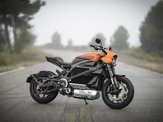 Harley Davidson, moto 100 electrique du constructeur americain qui l a baptisee LiveWire