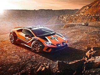 Lamborghini Huracan Sterrato, supercar tout terrain signee le constructeur italien