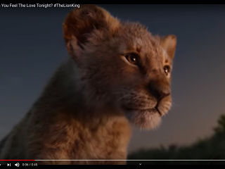 Film Le Roi Lion Disney, Beyonce devoile un extrait de la chanson Can you feel the love tonight