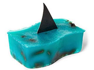 Lush Shark Attack, campagne publicitaire de la marque de cosmetiques pour la protection des oceans