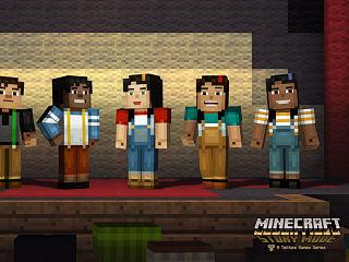 Minecraft Story Mode, le jeu video de Telltale tire a sa fin sur Xbox 360