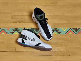 Nike Zoom Heritage N7, Tinker Hatfield a concu des chaussures de sport pour jouer au basketball