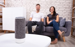 Technologie a la maison, l enceinte connectee de type Amazon Echo ou Google Home seduit le public