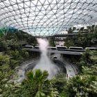 L'aéroport Changi à Singapour mise sur le naturel avec Jewel