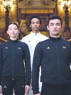 Opera de paris x Coq sportif, la marque francaise est l equipementier du Ballet et de l Ecole de danse
