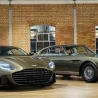 Aston Martin: hommage à James Bond avec une DBS Superleggera