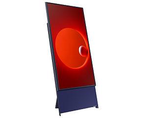 Tele verticale, Samsung propose un televiseur de 43 pouces qui ressemble a un smartphone