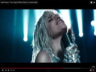 Find U Again de Mark Ronson: le single en duo avec Camila Cabello a un clip