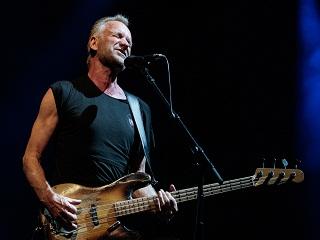 Festival Jazz in Marciac: Sting, le chanteur britannique et l ex membre de The Police s est produit au JIM