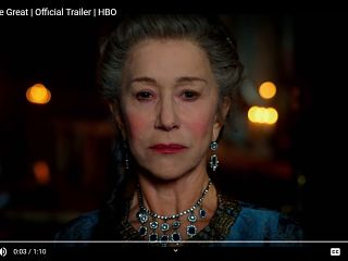 Serie Catherine the great, Helen Mirren dirigee par Philip Martin pour HBO