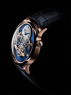 MB et F: Legacy Machine No 2, la montre de la marque suisse est dotee d un cadran bleu