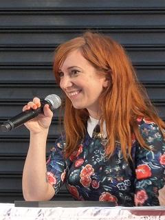Penelope Bagieu, la dessinatrice francaise a remporte le prix Eisner pour la bande dessinee Culottees