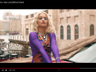 New Look, Rita Ora devoile le clip de la chanson issue de l album Phoenix