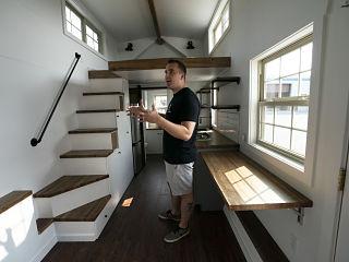 Maisons, la Tiny House ou une mini maison avec moins d empreinte ecologique sur l environnement
