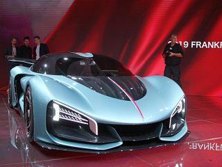 Hongqi au Salon de Francfort, le fabricant chinois avec deux concept cars dont une supercar