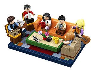 Serie Friends, Lego propose un kit inspire des personnages de la production tv