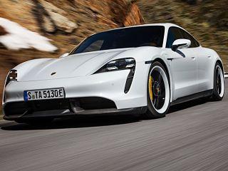 Porsche Taycan 100 pour 100 electrique, la nouvelle voiture du fabricant italien