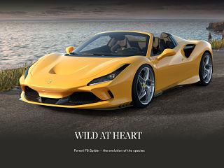 Ferrari F8 Spider, une voiture de sport decapotable avec une motorisation surpuissante