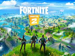 Jeu video Fortnite d Epic Games, le chapitre 2 dispose de mises a jour