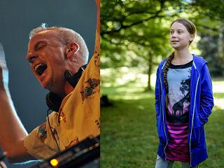 Greta Thunberg, un remix du DJ Fatboy Slim sur la militante suedoise