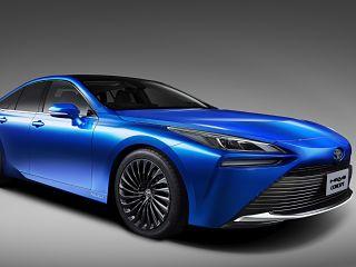 Toyota Mirai a hydrogene, la pile a combustible dans la nouvelle generation