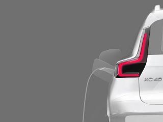 Volvo XC40, le prochain SUV cent pour cent electrique du constructeur suedois